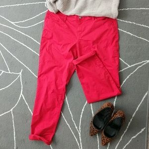 Red Modern Skinny Jeans