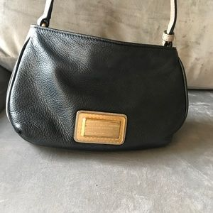 Marc by Marc Jacobs Black/White/Taupe Crossbody
