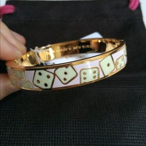 Kate Spade Double or Nothing Dice Bracelet