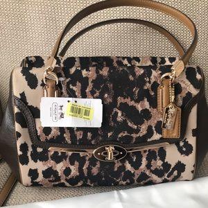 Coach Leopard/Cheetah print Handbag