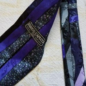 Capucci Silk 1990S tie