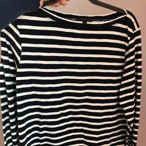 J Crew long sleeved sailor shirt Tres French!