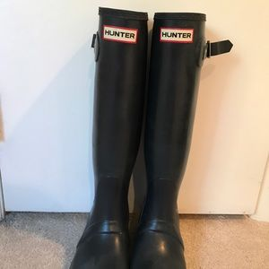 Women's hunter rain boots (original) Navy