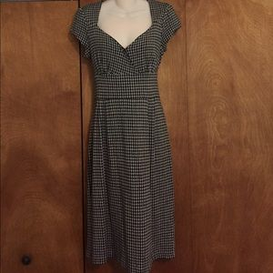 Banana Republic Hoodstooth Dress