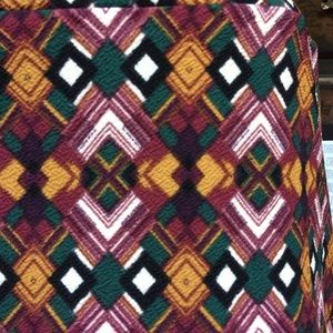 Lularoe Cassie pencil skirt in great colors!