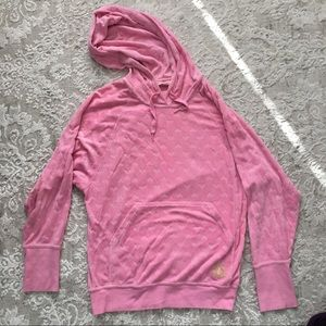 Juicy Couture pink sweatshirt with hearts