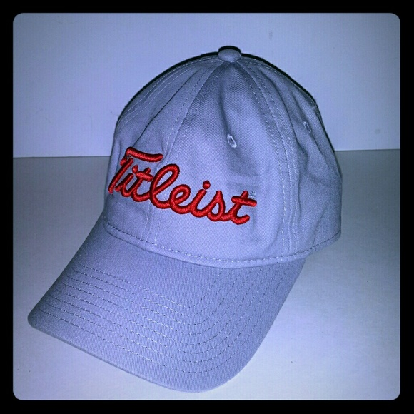 Titleist OCI New Era Golf Baseball Hat Cap Gray Re a4016832bc8