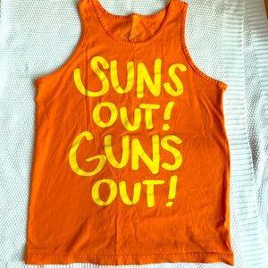 Men's Suns out Guns Out Tank