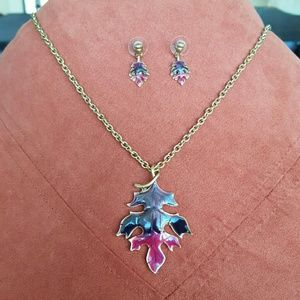 Jewelry - Fall Leaf Necklace Set