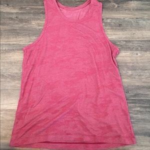 Lululemon tank top , Size M, Color Red Camouflage