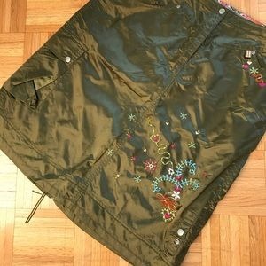 One of a kind Oilily skirt with embroidery