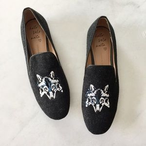 Banana Republic Wolf Loafers 7