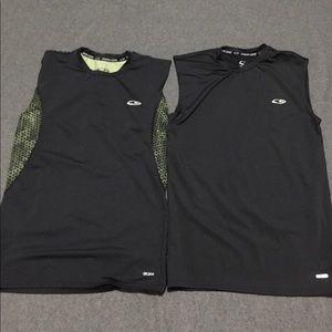 Bundle of TEO Men's Power Core Compression Shirts