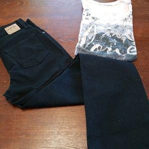 Levis boot cut jeans size 4
