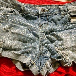 ZCO Jean Cutoff Shorts Juniors Size 9