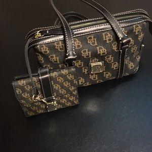 Dooney & Bourke Signature Handbag