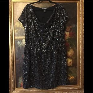 Lane Bryant sequence dress