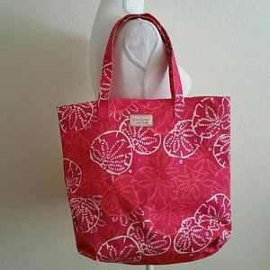 Lilly Pulitzer Canvas Tote Bag