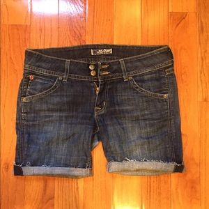 Hudson cutoff jean shorts