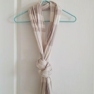 Banana Republic winter white scarf