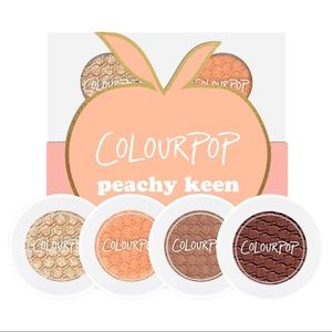 Colourpop 🍑 Peachy Keen Super Shock Shadow set