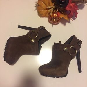 GUESS Leather Booties