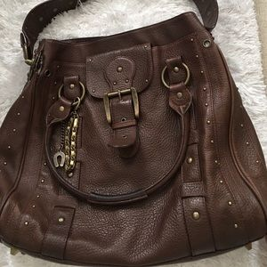 Betsey Johnson Large Brown Tote