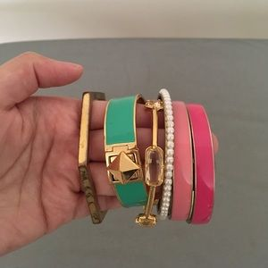 Kate Spade bangles with dust bag