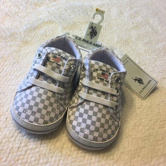 696d60cbde1 Baby Boys Size 9-12 Month U.S Polo ASSN. Shoes NWT