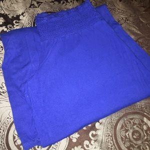Blue Express brand gaucho pants