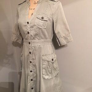 Anthropologie Maeve Cargo Dress