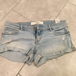 Hollister Denim Mini Shorts