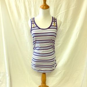 MICHAEL Michael Kors Blue Striped Tunic
