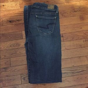 Size 4 Long American Eagle Skinny Jeans