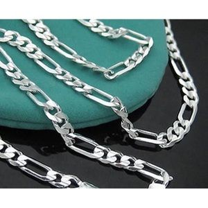 "BN 9.25 Solid Sterling Silver 30"" Chains 2""-4""wide"