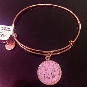 Alex & Ani What Is For You Will Not Pass You