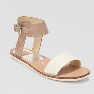 Dolce Vita Naria Flat Ankle Strap Sandals Size 8