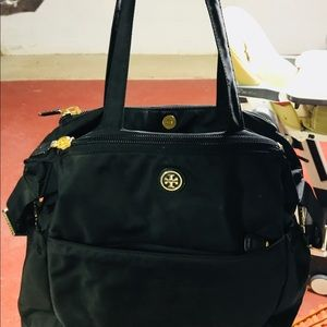Tory Burch diaper bag!