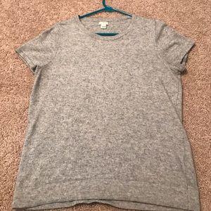 J Crew Short Sleeve Sweater