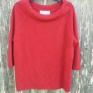 SAGHARBOR Red Sweater