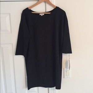NEW WITH TAGS! Leith black shift dress