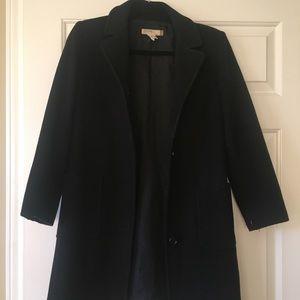 J Crew Petite Black Pea Coat