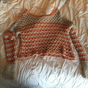 Cropped Free People sweater