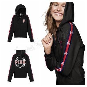 NWT VS PINK PERFECT FULL ZIP HOODIE SMALL