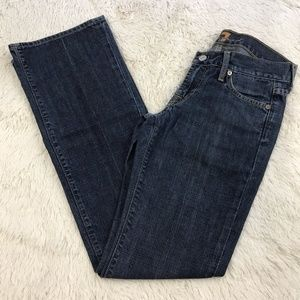 7 For All Mankind Boot Cut Medium Wash Jeans