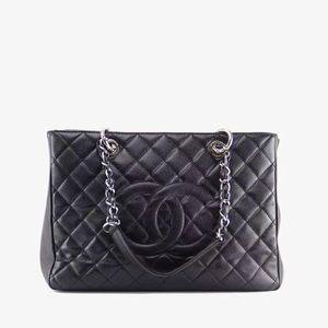 Authentic Chanel GST tote
