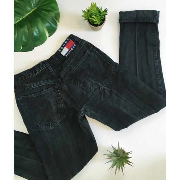 0a484a64e Tommy Hilfiger Jeans   Vintage Black High Waisted Mom Jean   Poshmark