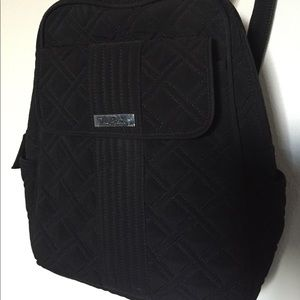 Vera Bradley - Black Backpack - GREAT CONDITION