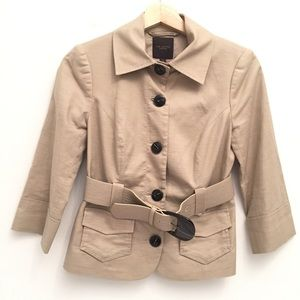 The Limited Cropped Fitted Jacket EUC XS