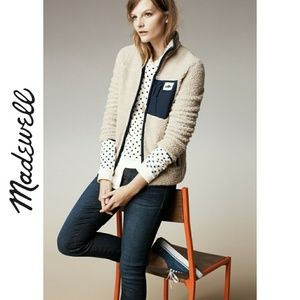 Madewell Domino Dot Pullover Sweatshirt